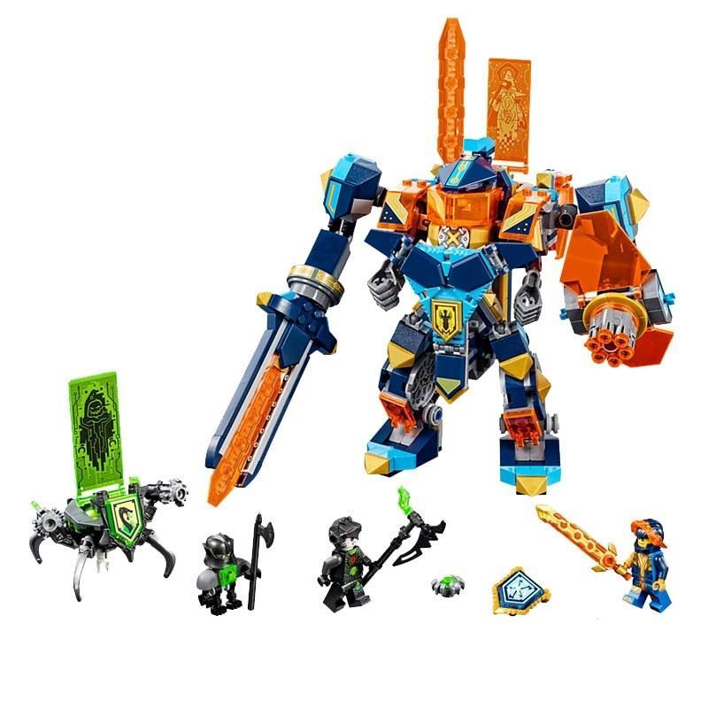 Конструктор Bela 10817 Nexo Knights Нексо Найтс Решающая битва роботов 517 деталей