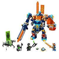 Конструктор Bela 10817 Nexo Knights Нексо Найтс Решающая битва роботов 517 деталей, фото 1