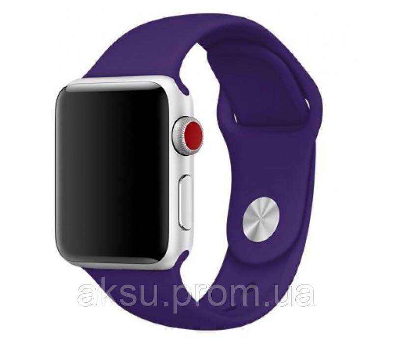 Ремешок для Apple Watch Sport Band 38 mm/40 mm (Ultra Violet)