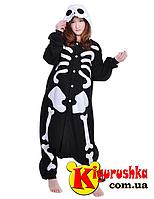 Пижама костюм на хеллоуин Скелет кигуруми