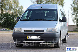 Передняя защита ST009 (нерж) - Peugeot Expert 1996-2007 гг.
