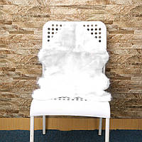 Super Soft Faux Sheepskin Sofa Cover Warm Hairy Carpet Seat Pad Пушистые коврики - белые