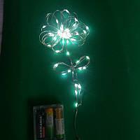 Гирлянда светодиодная на батарейках(5 м), фото 1