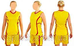 Форма баскетбольная женская Atlanta (полиэстер, р-p М(46-48), желтый)
