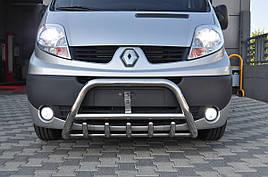 Кенгурятник WT003 (нерж.) - Nissan Primastar 2002-2014 гг.