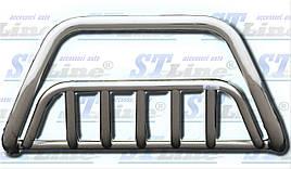 Кенгурятник WT002 (нерж) - Toyota LС 100