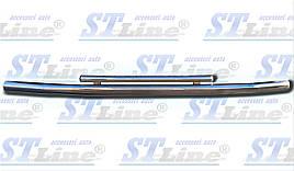 Передняя защита ST014 (нерж.) - Toyota LС 100