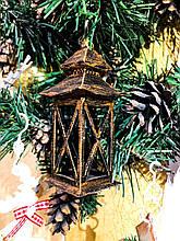Новогоднее украшение фонарик маленький