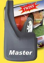 Бризковики з поглибленням (2 шт, гума) - Renault Master 2004-2010 рр.