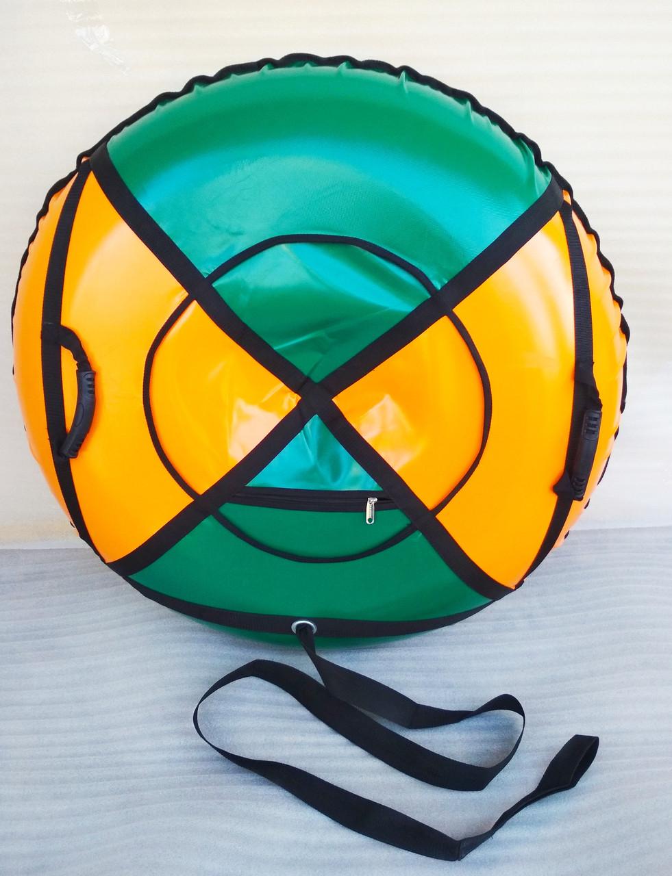 Тюбинг, ватрушка (санки надувные) диаметр 120 см.