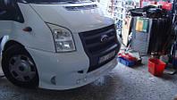 Накладка на передний бампер (200-HP) - Ford Transit 2001-2014 гг.
