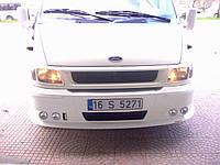 Накладка на передний бампер (2000-2006) - Ford Transit 2001-2014 гг.