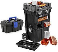 Ящик строительный NEO 84-115 + небольшой ящик