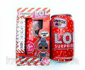 LOL баночка кока-кола / баночка Лол аналог, фото 3