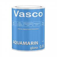 Эмаль акриловая глянцевая белая на водной основе Aquamarin