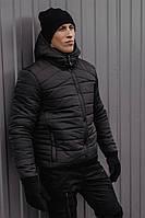Мужская зимняя куртка PBV Winter Jacket Rise Black