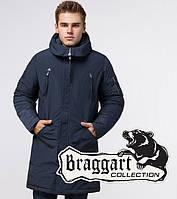 Парка зимняя мужская Braggart Arctic - 23675B синяя