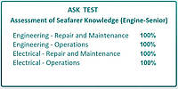 ASK (Assessment of Seafarer Knowledge) вопросы и ответы