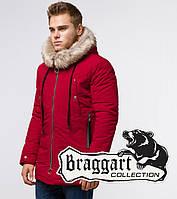 Парка зимняя мужская Braggart Arctic - 15231G красная