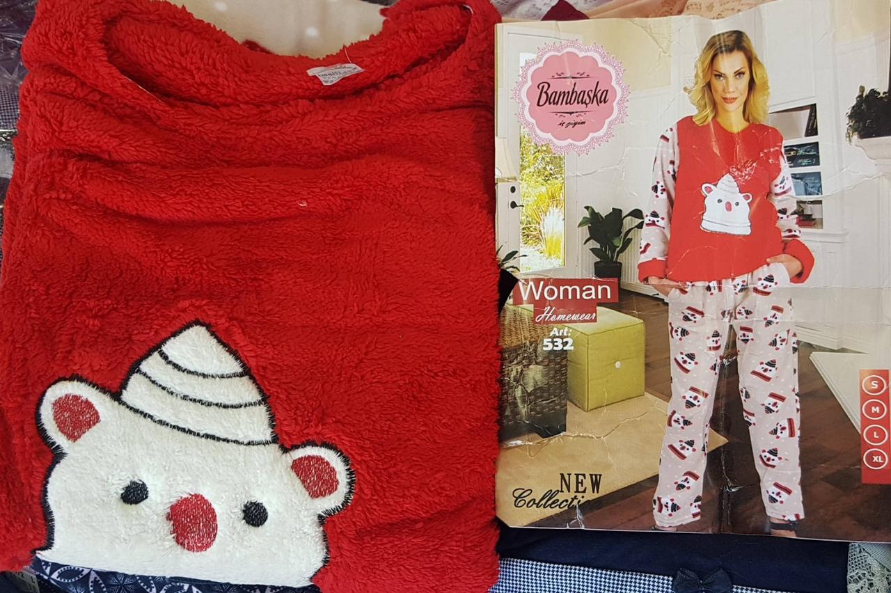 Женская пижама с красной кофтой  продажа eaab61155d63a