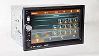 "Автомагнитола Pioneer 7022 7"" GPS+USB+SD+пульт на руль 2DIN"