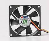Вентилятор, кулер для корпуса Titan 80x80x15мм (TFD-8015 M 12 Z), фото 4