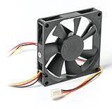 Вентилятор, кулер для корпуса Titan 80x80x15мм (TFD-8015 M 12 Z), фото 2
