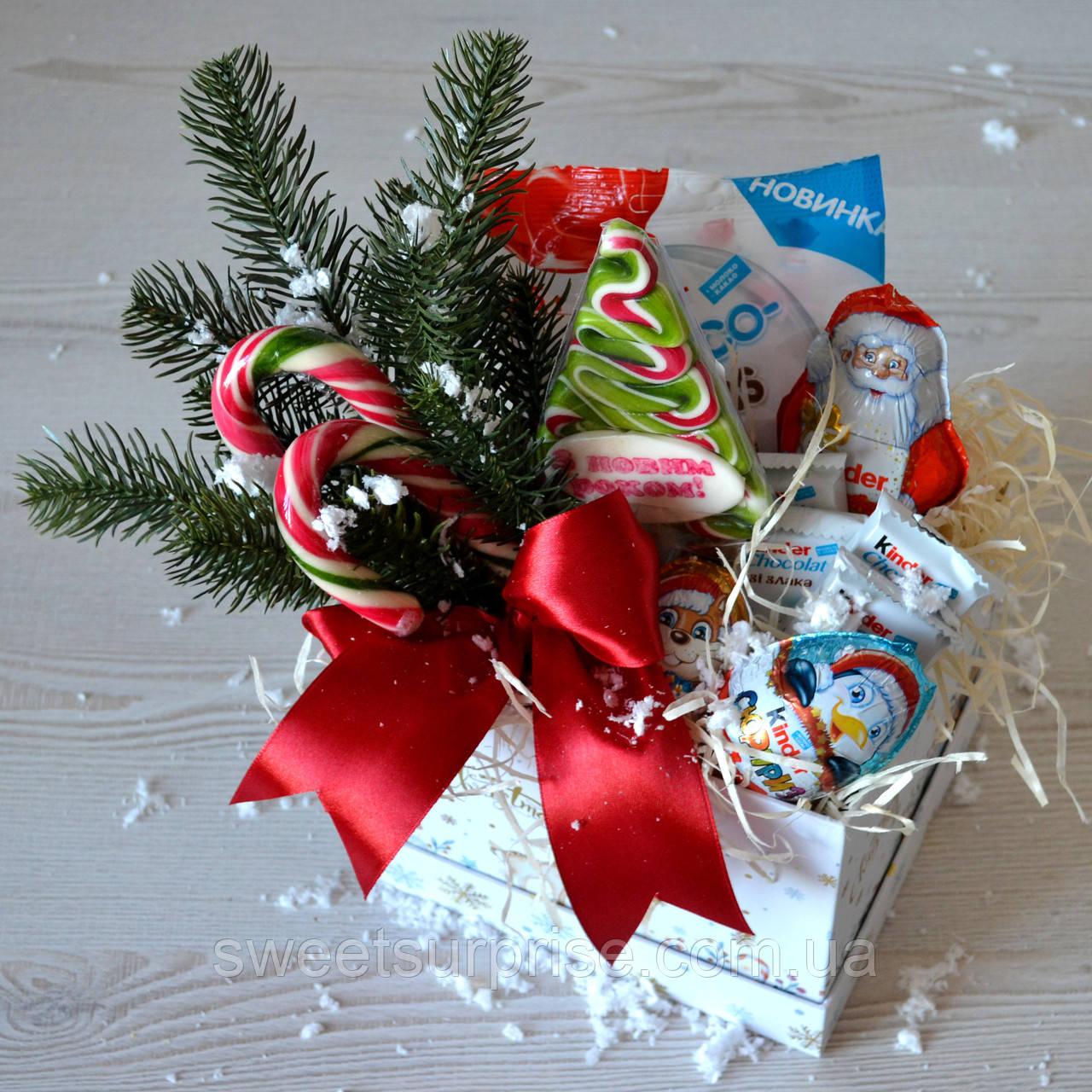 """Сладкий новогодний подарок для дочери """"Sweet box"""""""