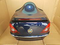 """Кофр для мотоцикла (багажник) """"Mersedes"""" синий"""