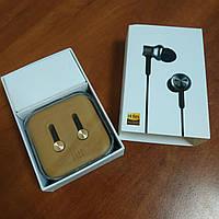 Вакуумные наушники Xiaomi mi in-ear headphones gold золотые