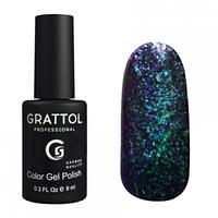 Grattol Gel Polish Galaxy Emerald №001, 9ml