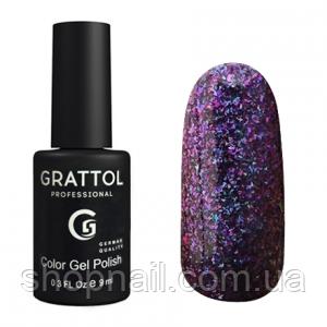 Grattol Gel Polish Galaxy Amethyst №002, 9ml, фото 2