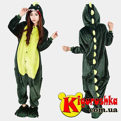 Купить пижаму кигуруми Динозавр зелёный в Киеве в Интернет магазин ... 8cb3e8bdd4aab