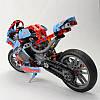 Конструктор YILE 107А TECHNIC Спортбайк или Чопер Мотоцикл 391 деталей