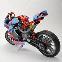 Конструктор YILE 107А TECHNIC Спортбайк или Чопер Мотоцикл 391 деталей, фото 1