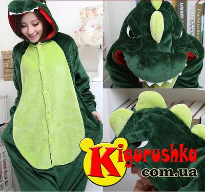 Купить пижаму кигуруми Динозавр зелёный в Киеве в Интернет магазин  Kigurushka 6120e54b12e9b