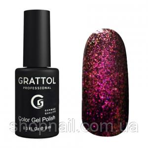 Grattol Gel Polish Galaxy Garnet №003, 9ml, фото 2