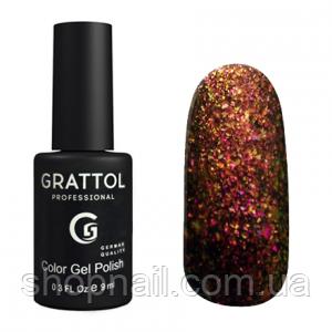 Grattol Gel Polish Galaxy Copper №004, 9ml, фото 2