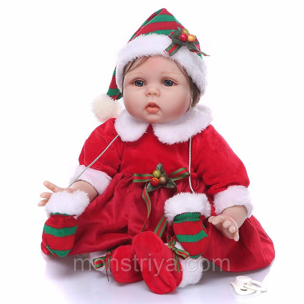 Очаровательная Рождественская кукла реборн / Reborn doll