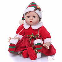 Очаровательная Рождественская кукла реборн / Reborn doll, фото 1