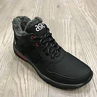 Мужские кожаные зимние кроссовки Asics / реплика, фото 1
