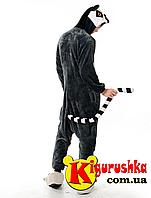 Пижама кигуруми Лемур L(170-180 см)