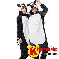 Пижама кигуруми Лемур для взрослых 8a30aa5d642f6