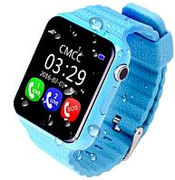 Детские смарт часы с GPS трекером Smart Baby Watch V7K голубой