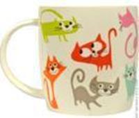 """Чашка Keramia """"Кольорові коти"""" 415мл в п.у."""