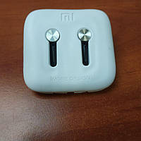 Вакуумные наушники Xiaomi mi in-ear headphones bright silver яркое серебро