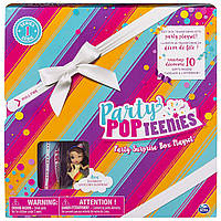 Party Popteenies Ava, Набор: «Подарок – сюрприз» С куклой хлопушкой, Spin Master из США