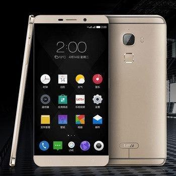"Смартфон Leeco LeTV le max x900 Gold 4/128Gb, 21/4Мр, 2 Sim, NFC, Snapdragon 810, 6.33"", 2K дисплей, 3400 мАч"