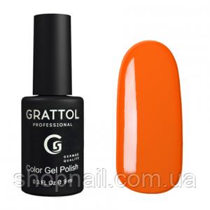 Grattol Gel Polish Orange Red №029, 9ml, фото 2