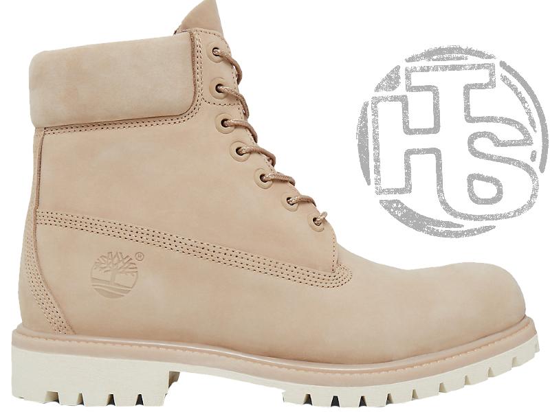 3a4cc711 Женские Ботинки Timberland Classic Boots Beige Winter (с Мехом) — в ...